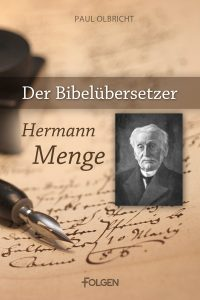 Cover - Der Bibelübersetzer Hermann Menge FINAL