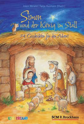 Simon und der König im Stall