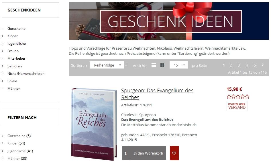 cbuch.de Geschenkideen